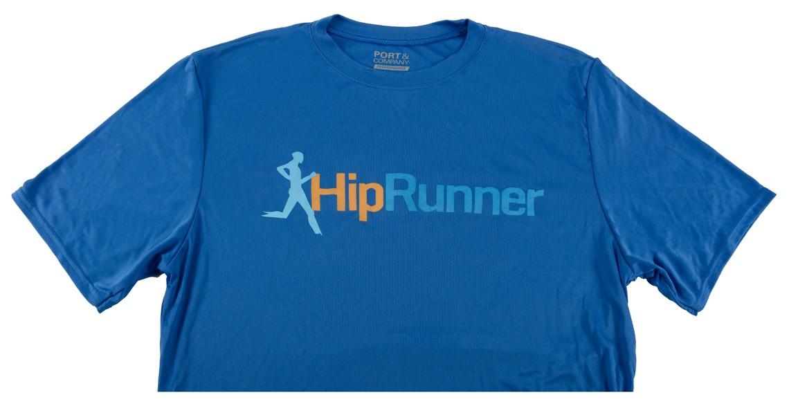 Hip Runner Shirt Blue – 2017