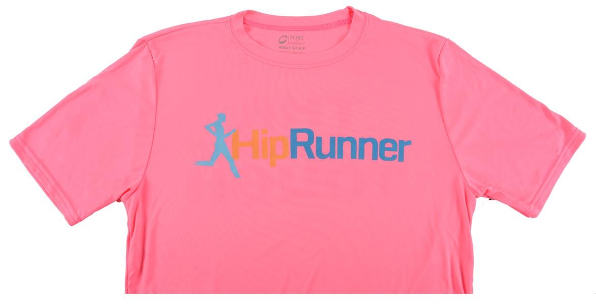 Hip Runner Shirt Pink – 2017